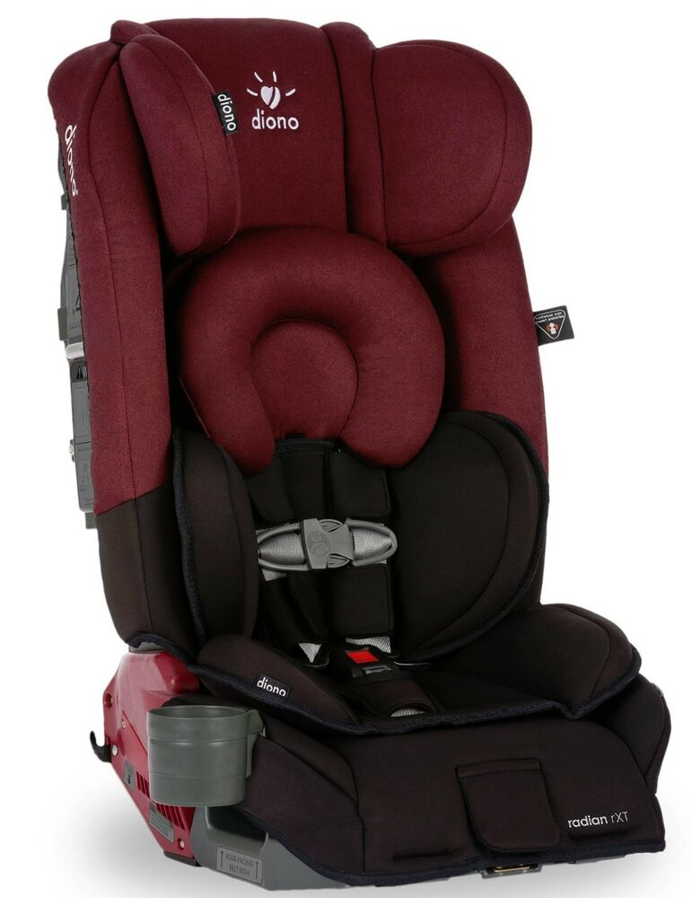 diono radian rxt black scarlet convertible booster folding child safety car seat ebay. Black Bedroom Furniture Sets. Home Design Ideas