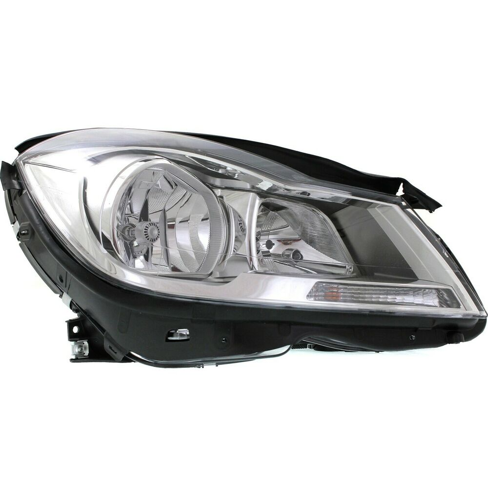 Headlight for 2012 2014 mercedes benz c250 c300 sedan for Mercedes benz headlight bulb