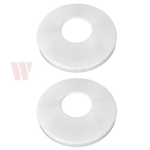 2 Pack Hayward Replacement White Pool Ladder Escutcheon