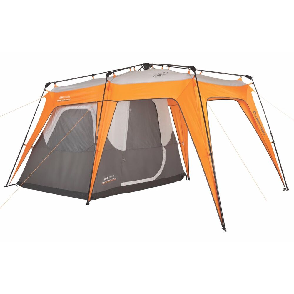 2 Person Coleman Instant Tent : Coleman in person instant family camping tent