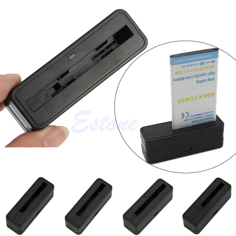 External USB Battery Stand Cradle Charger Dock For Samsung ...
