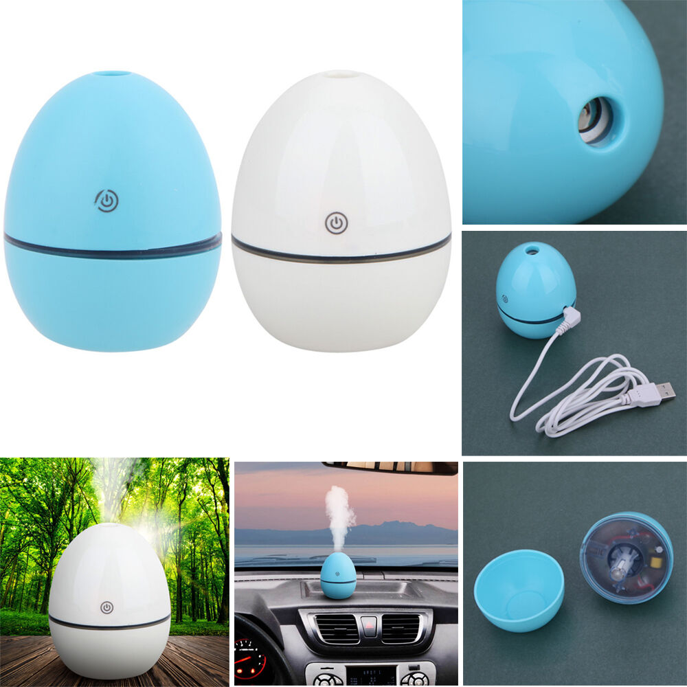 Mini usb ultrasonic humidifier office home air purifier diffuser cool mist maker ebay - Humidifier l air naturellement ...