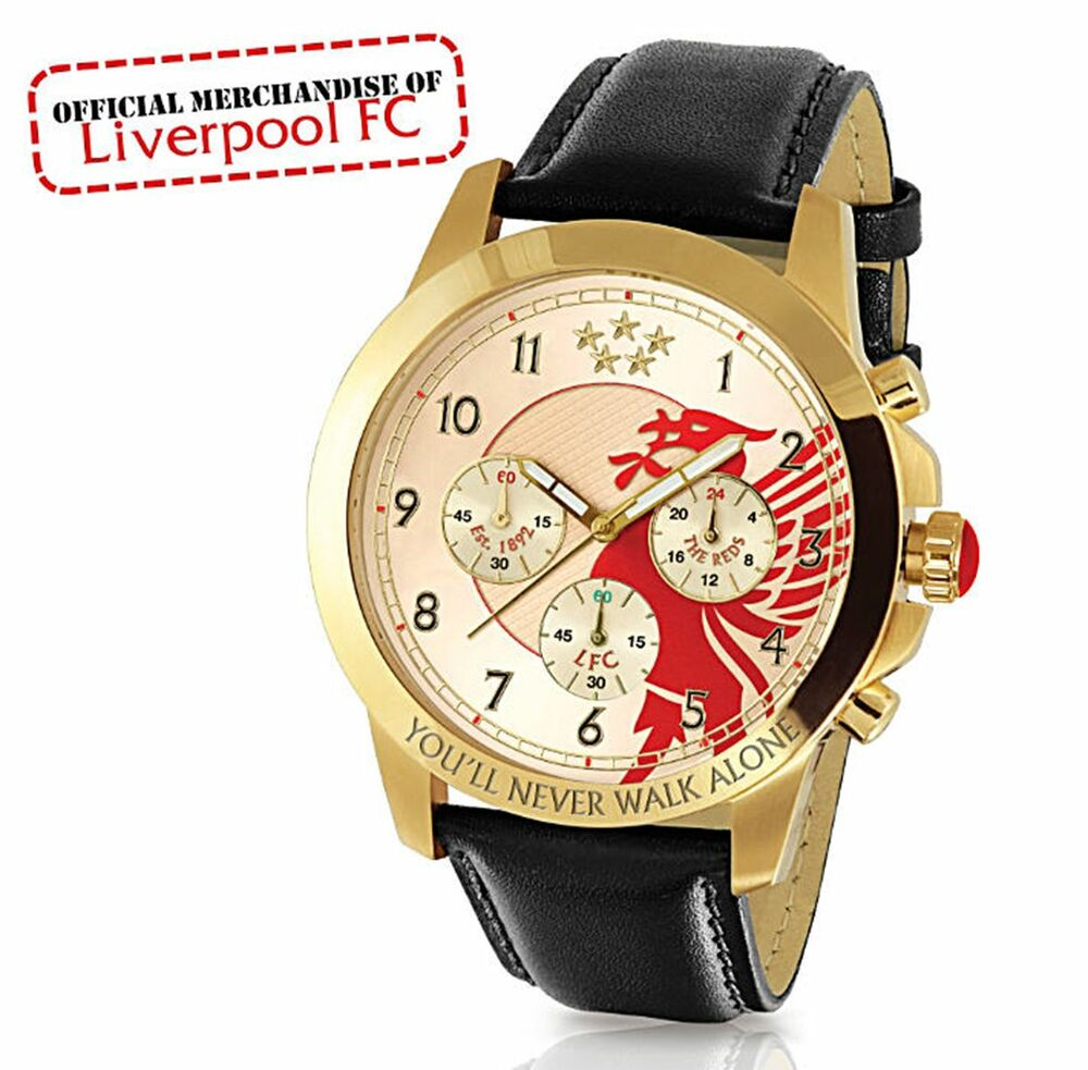 Liverpool Football Club CHRONOGRAPH MENS WATCH Officially ...