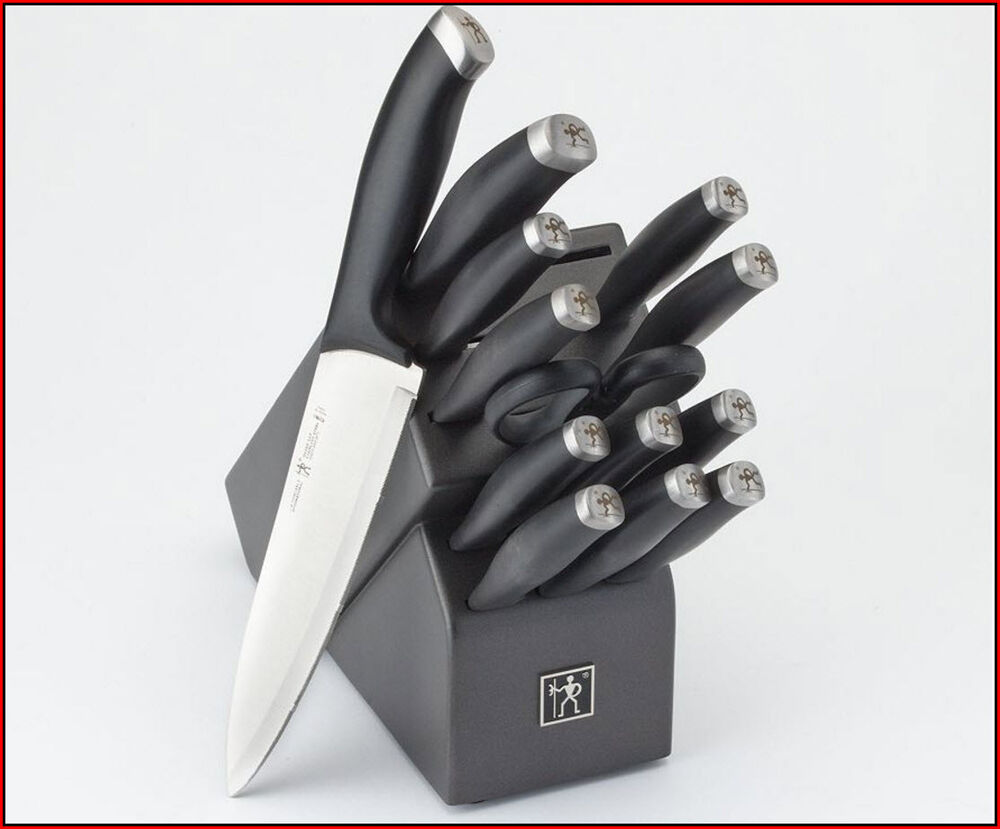 Zwilling J A Henckels Silvercap Knife Set 14 Piece