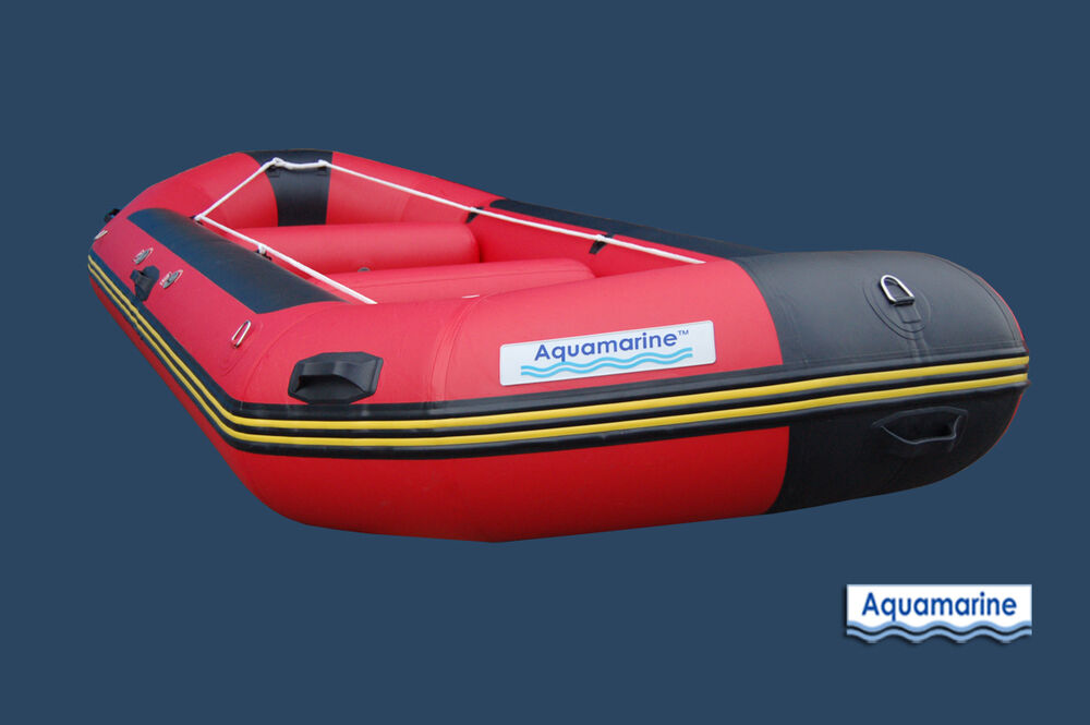 14 Ft Whitewater River Raft Inflatable Raft With High