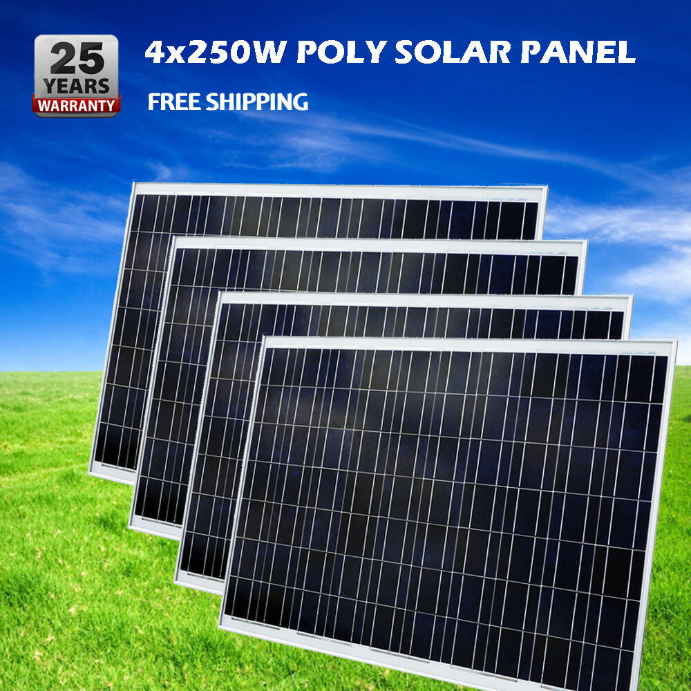 Rv battery charger solar ebay autos post for Solar panel cost for 1000 sq ft home