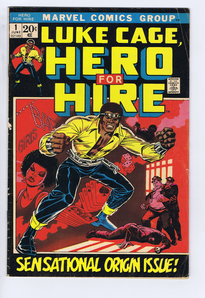 Writing for hire luke cage