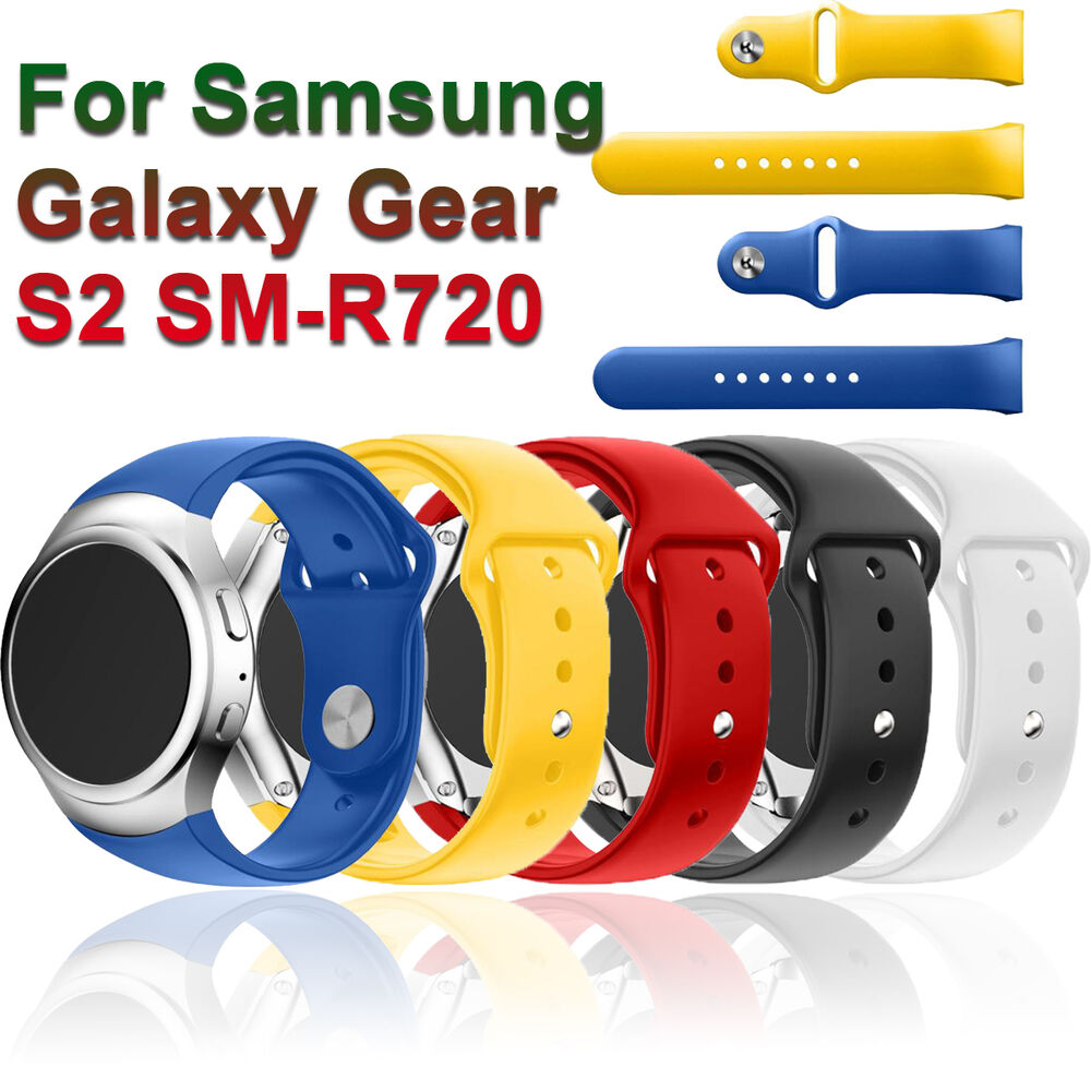Luxury Sport Silicone Smart Watch Band Strap For Samsung ...