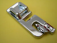 SEWING MACHINE CLIP ON ROLLED HEM FOOT FITS BROTHER TOYOTA JANOME SILVER SINGER