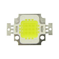 5pcs 10W 1000LM White 6500K 9~12V SMD LED Lamp Light Lamp Part 45mil Bright