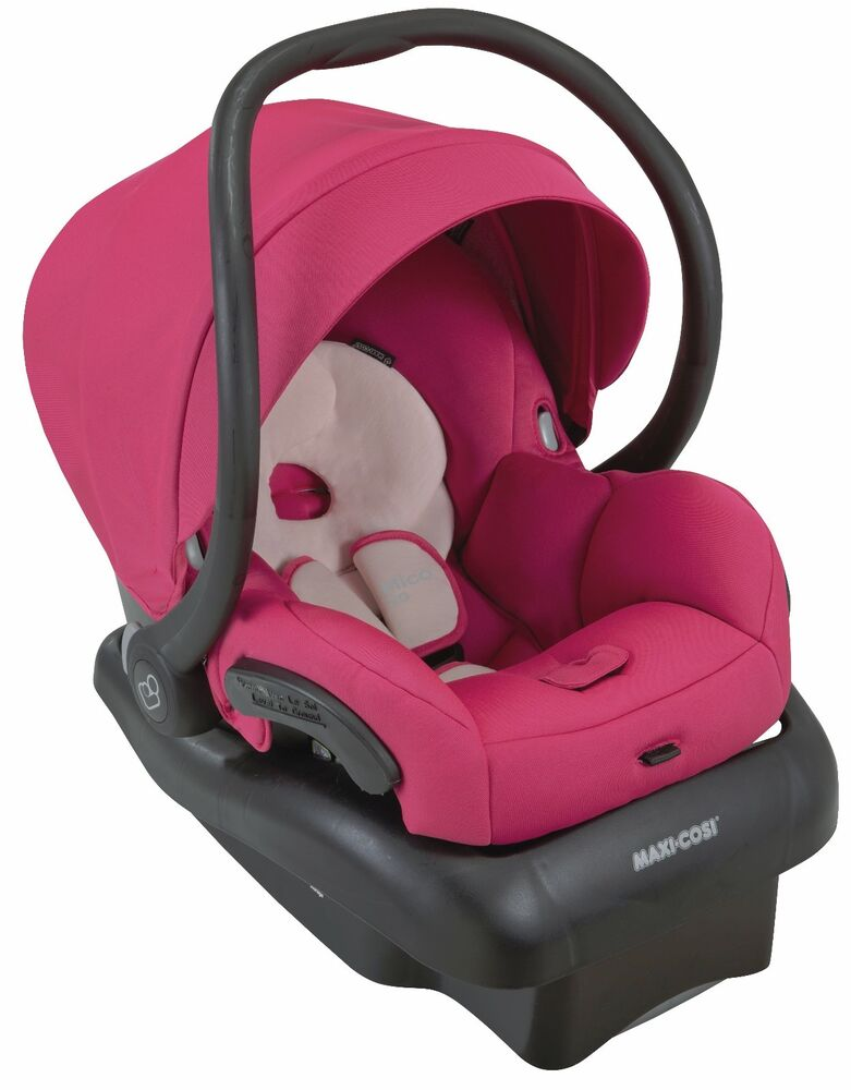 maxi cosi mico 30 infant baby car seat w base bright rose 5 30 lbs new 2016 ebay. Black Bedroom Furniture Sets. Home Design Ideas