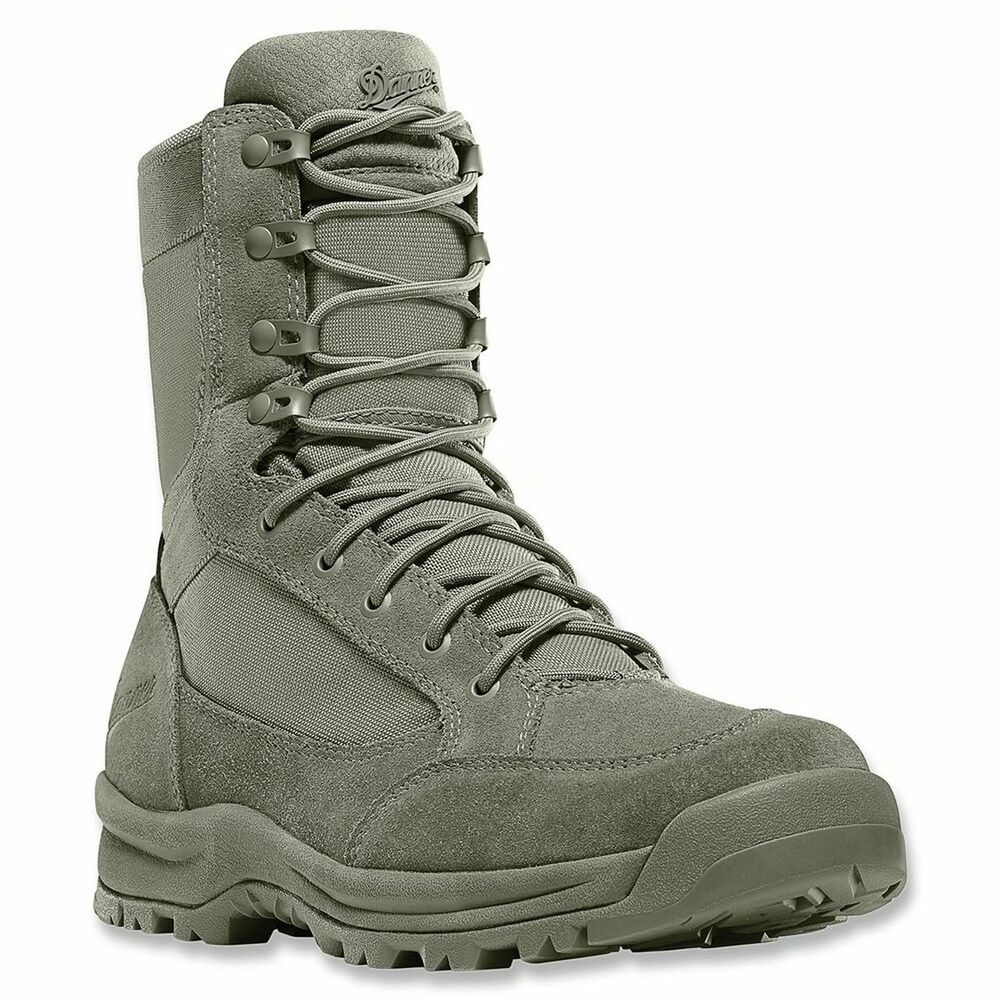 Danner 55321 Sage Green Tanicus 8 Inch Size Zip Nmt Boots