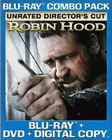 Robin Hood (Three-Disc Unrated Director's Cut Blu-ray/DVD Combo), Good DVD, Cate