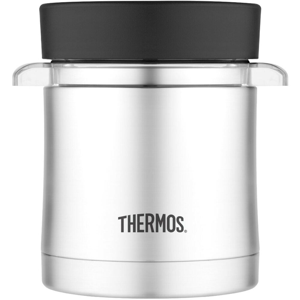thermos food jar thermos ss food jar with microwavable container 12 oz 30651