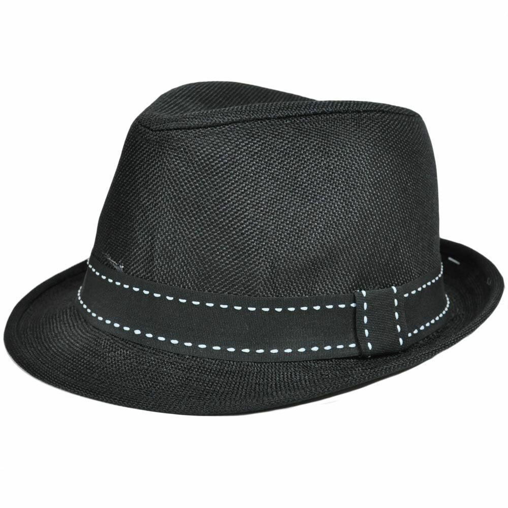Details about Polyester Fedora Stetson Mesh Hat Ribbon Trilby Band Small  Medium FD-160 Black 6d8a5546f396