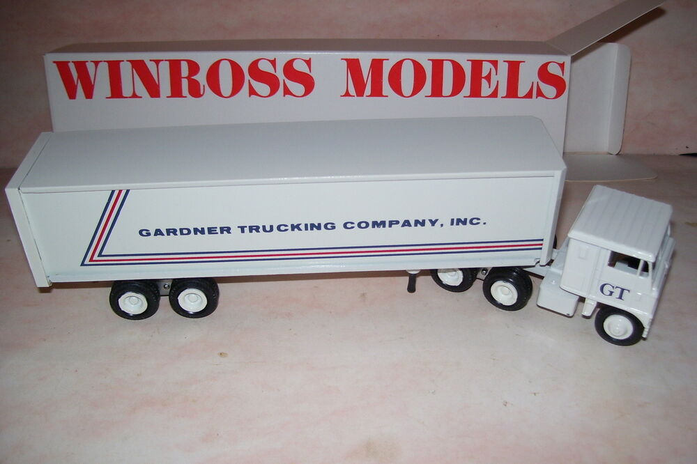 Gardner trucking company inc winross diecast delivery for Gardner inc