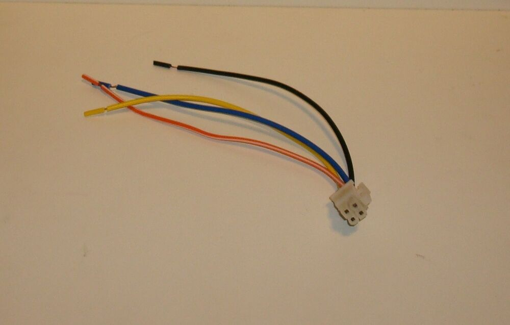 details about eclipse equalizer eq 2101 4 pin power plug wiring harness new
