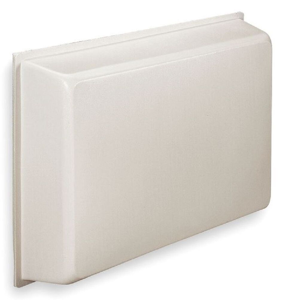Universal Ac Cover Molded Plastic R 5 For Through Wall