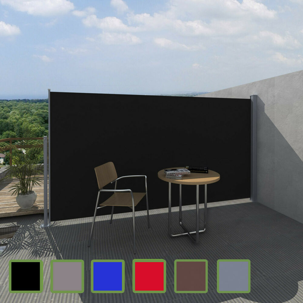 terrasse seitenmarkise sichtschutz sonnenschutz windschutz markise 290522 ebay. Black Bedroom Furniture Sets. Home Design Ideas