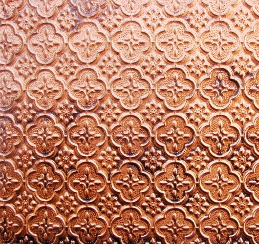 faux tin backsplash roll wc20 antique copper for seamless