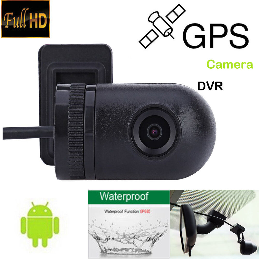 140° USB Mini Waterproof HD Camera For Android Car GPS