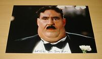 TERRY JONES HAND SIGNED 12x8 AUTOGRAPH PHOTO MR CREOSOTE MONTY PYTHON + COA