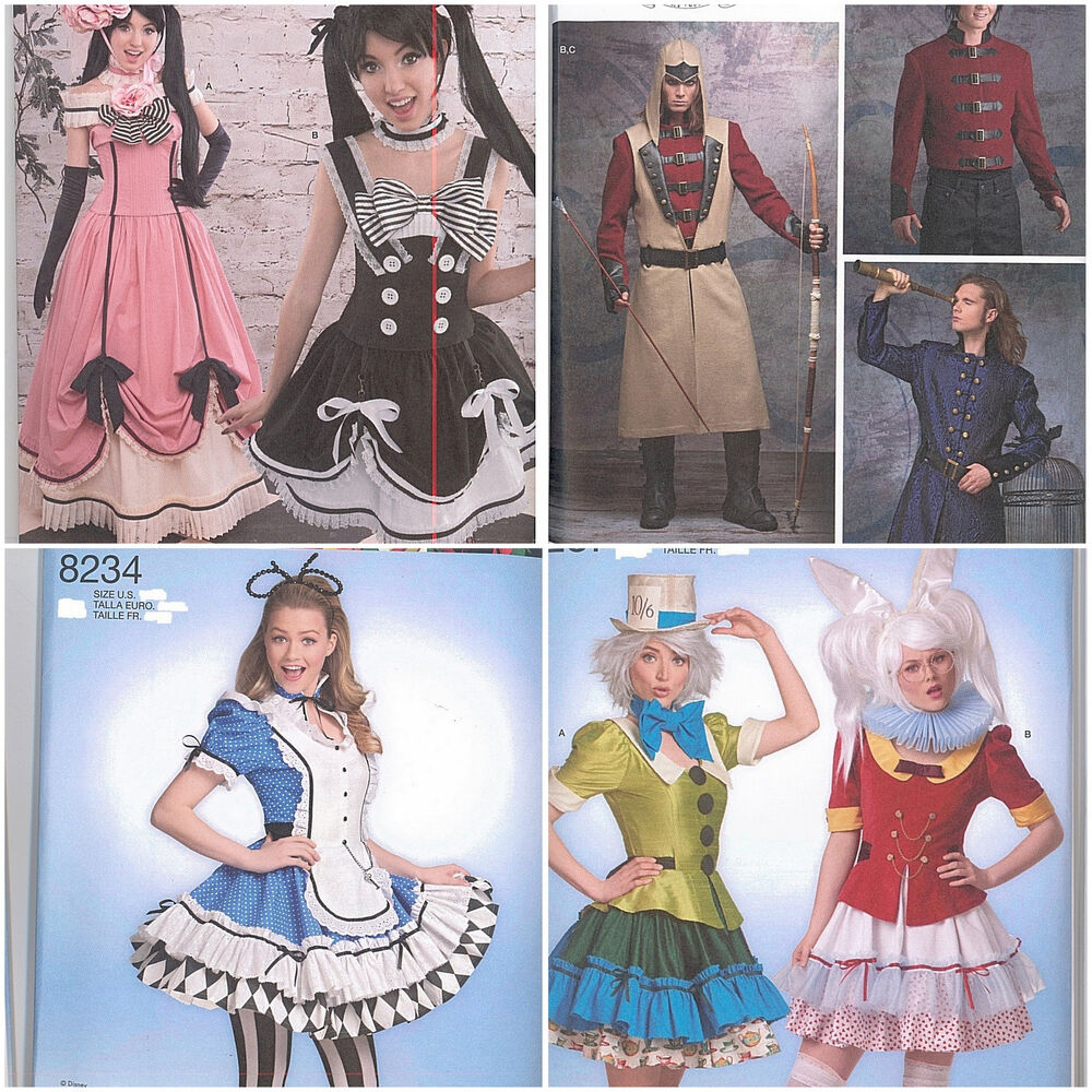 New Simplicity Sewing Pattern Cosplay Fairytale Victorian ...
