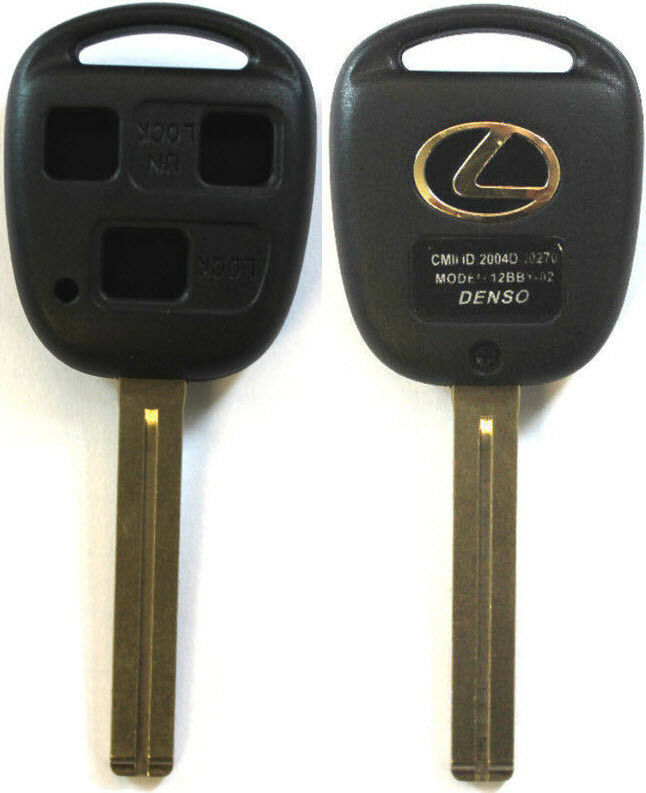 New Remote Key Keyless Replacement Case 3 Button Long ...