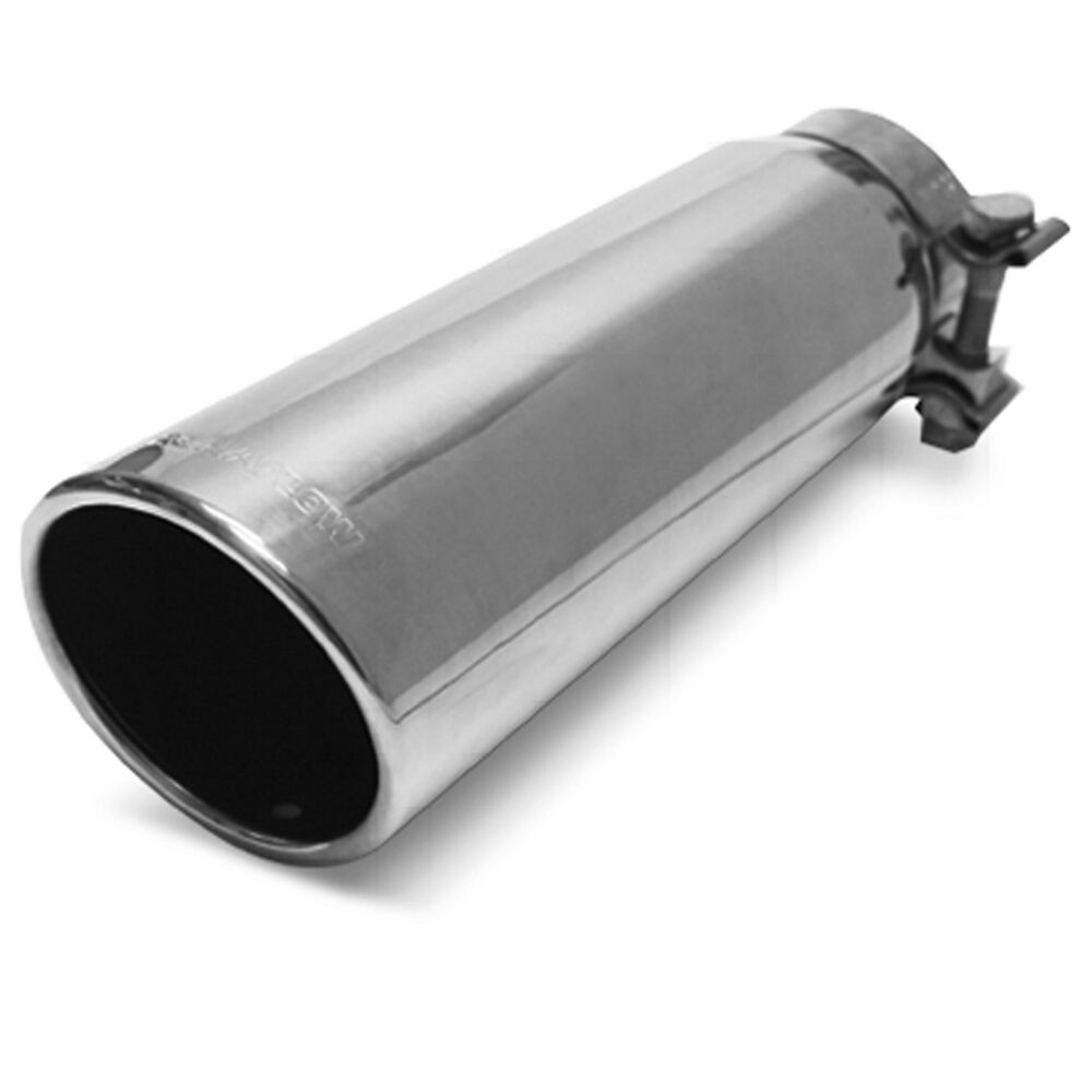 """3.5/"""" Out Magnaflow 35104 Stainless Steel Exhaust Tip Non-Rolled Edge 3/"""" In"""