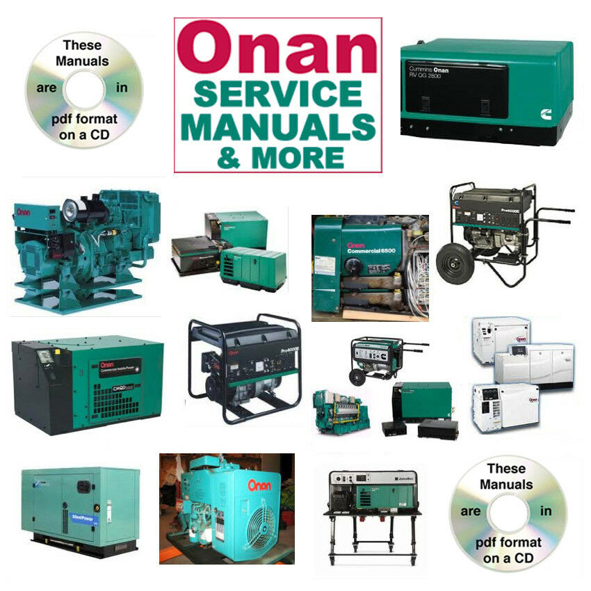 Onan Engine Parts Catalog : Onan rv generator nh parts catalogs service manual