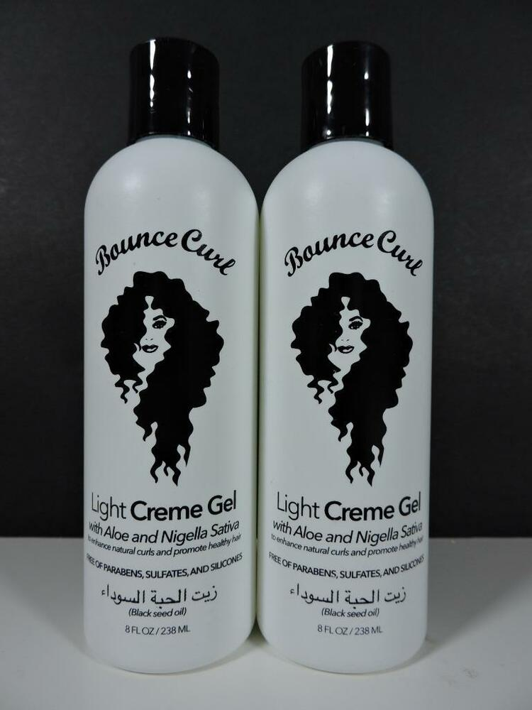 styling products for black hair 2x bounce curl light creme gel with aloe for curly hair 8029