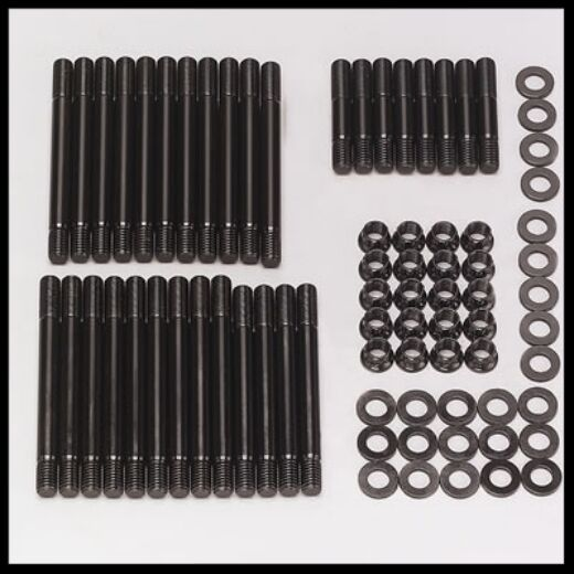 SBC HEAD STUD KIT FOR ALUM OR IRON HEADS SBC HEAD STUDS