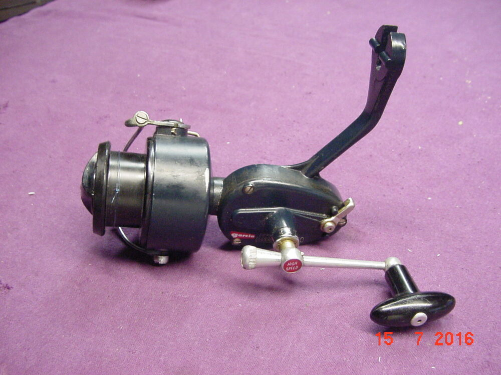 Vintage rare garcia mitchell 510 spinning reel no reserve for Old mitchell fishing reels