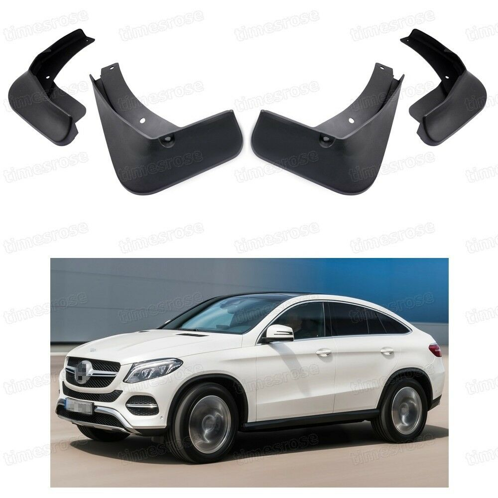 2016 Mercedes Benz Gle Coupe Exterior: 4 Mud Flaps Splash Guard Fender Mudguard For Mercedes-Benz