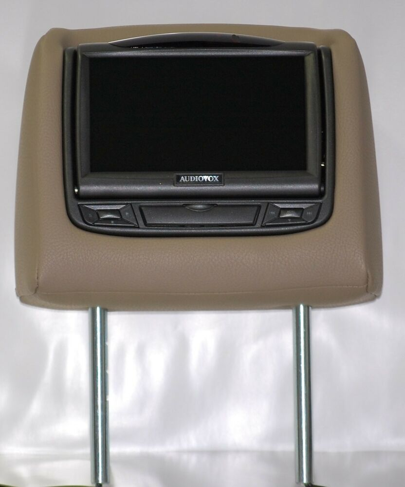 headrest dvd 14 2015 2016 toyota 4runner dual dvd headrest video players for cloth or leather