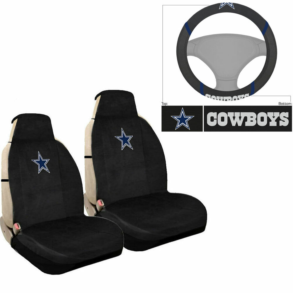 New Nfl Dallas Cowboys Car Truck Sideless Seat Covers