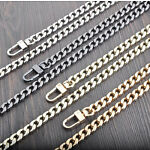 20-120 CM Flat chain Chain For Handbag Or Shoulder Strap Bag  Purse 4 Colors #45