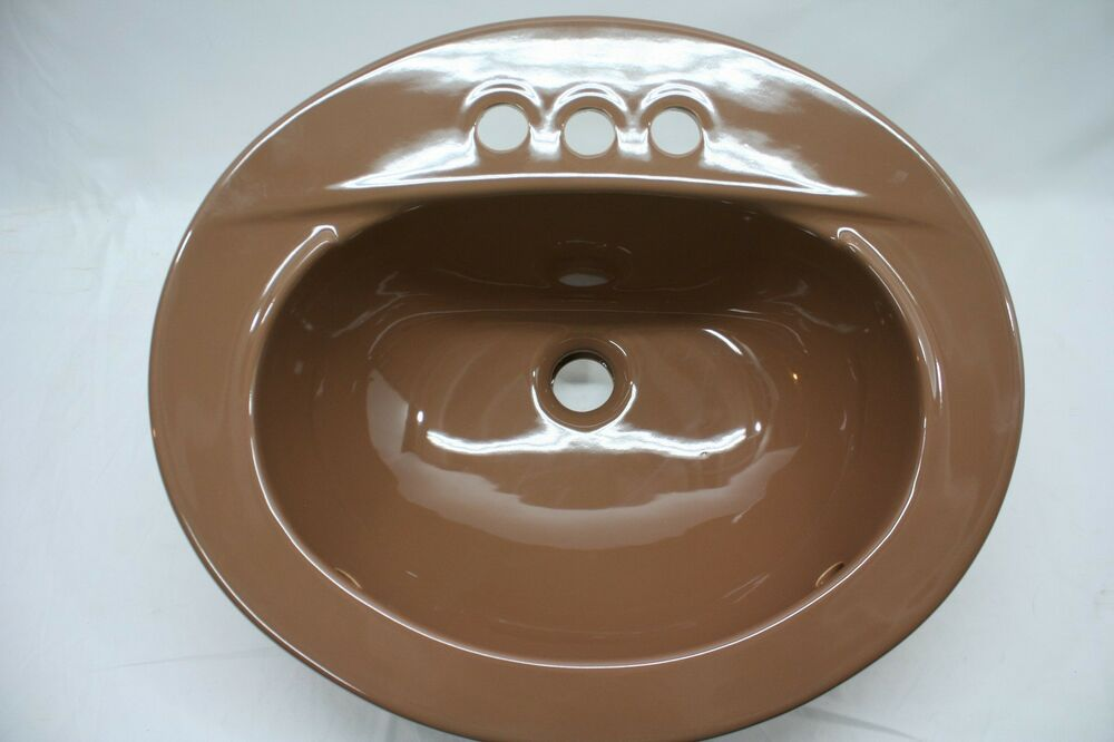 ebay kitchen sink bs 88 nos vintage eljer rich brown retro bathroom 3514