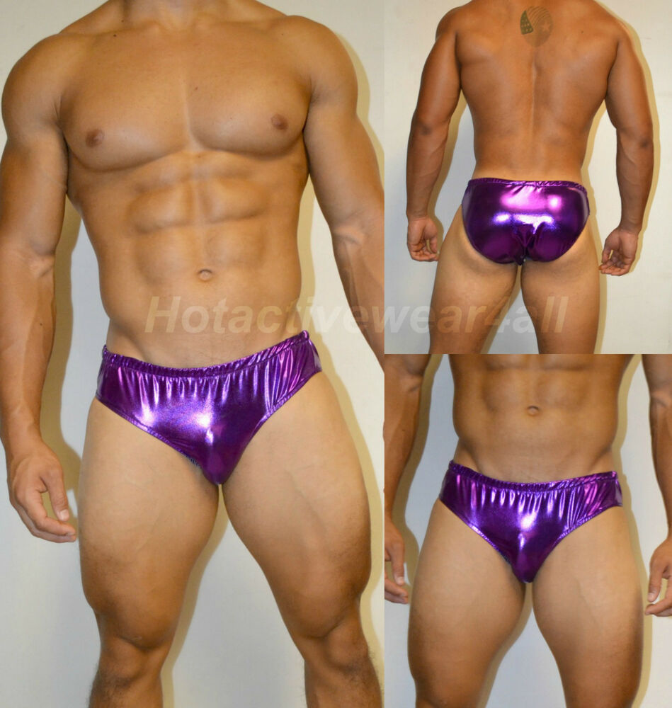 Congratulate, what men s metallic purple bikini obviously