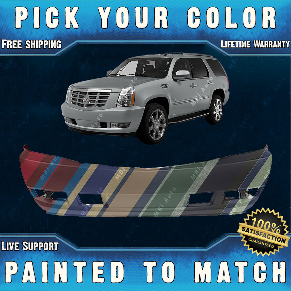 New Painted To Match Front Bumper Cover Fascia For 2007