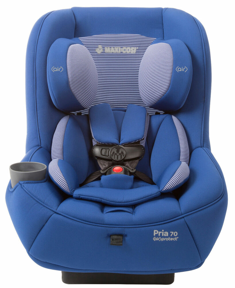 maxi cosi pria 70 convertible car seat child safety w air protect blue base new ebay. Black Bedroom Furniture Sets. Home Design Ideas