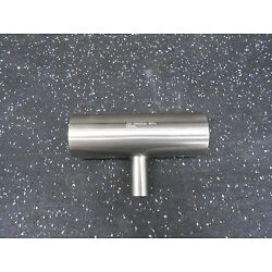 MAX PURE STAINLESS STEEL REDUCING TEE 2''OD X .75''OD BUTT WELD 5.75'' LONG