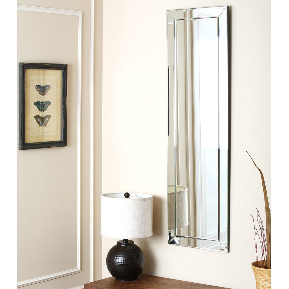 Abbyson living loft rectangle wall mirror ebay