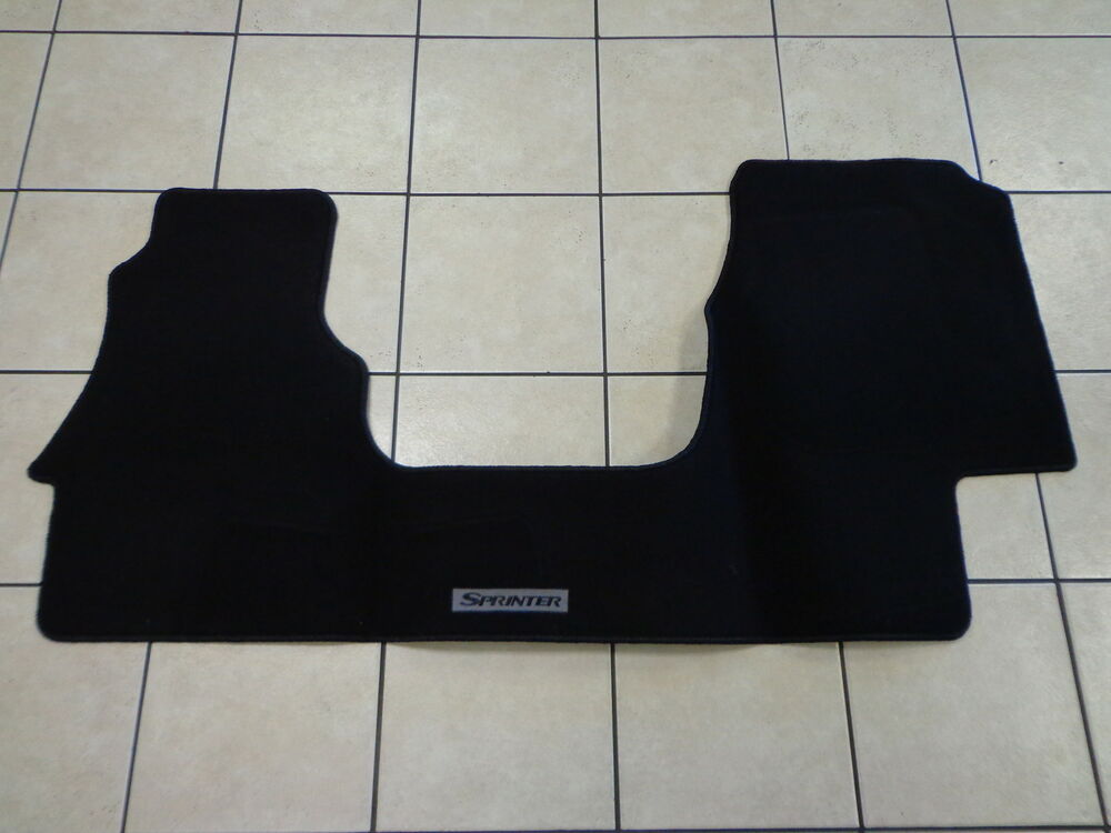 03 06 Dodge Sprinter Van New Front Carpeted Floor Mat Black Mopar Factory Oem Ebay