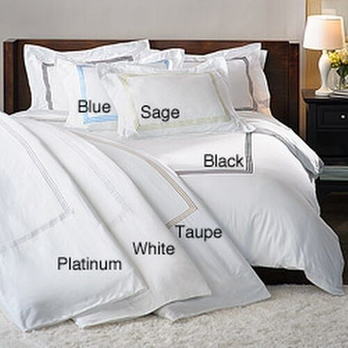 Hotel Collection 300 Thread Count Sateen 3 Piece Duvet Cover Set Ebay