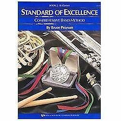 W22CL - Standard of Excellence Book 2 - Bb Clarinet, Bruce Pearson Paperback