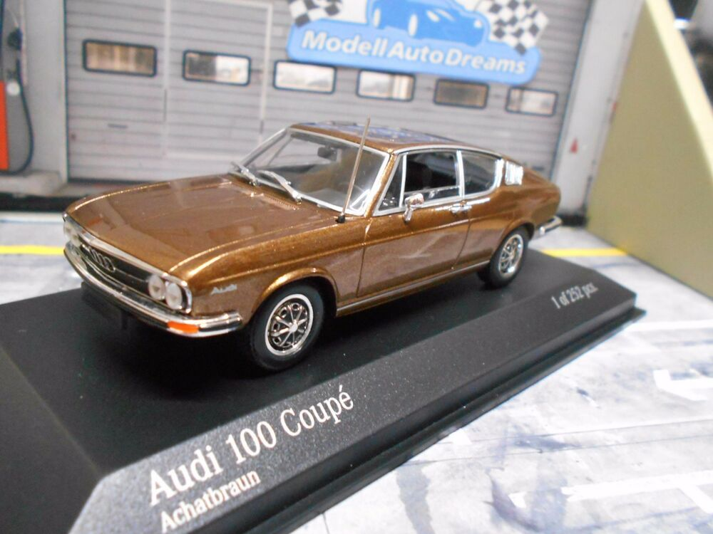 audi 100 coupe mki 1969 brown braun met neu new minichamps. Black Bedroom Furniture Sets. Home Design Ideas