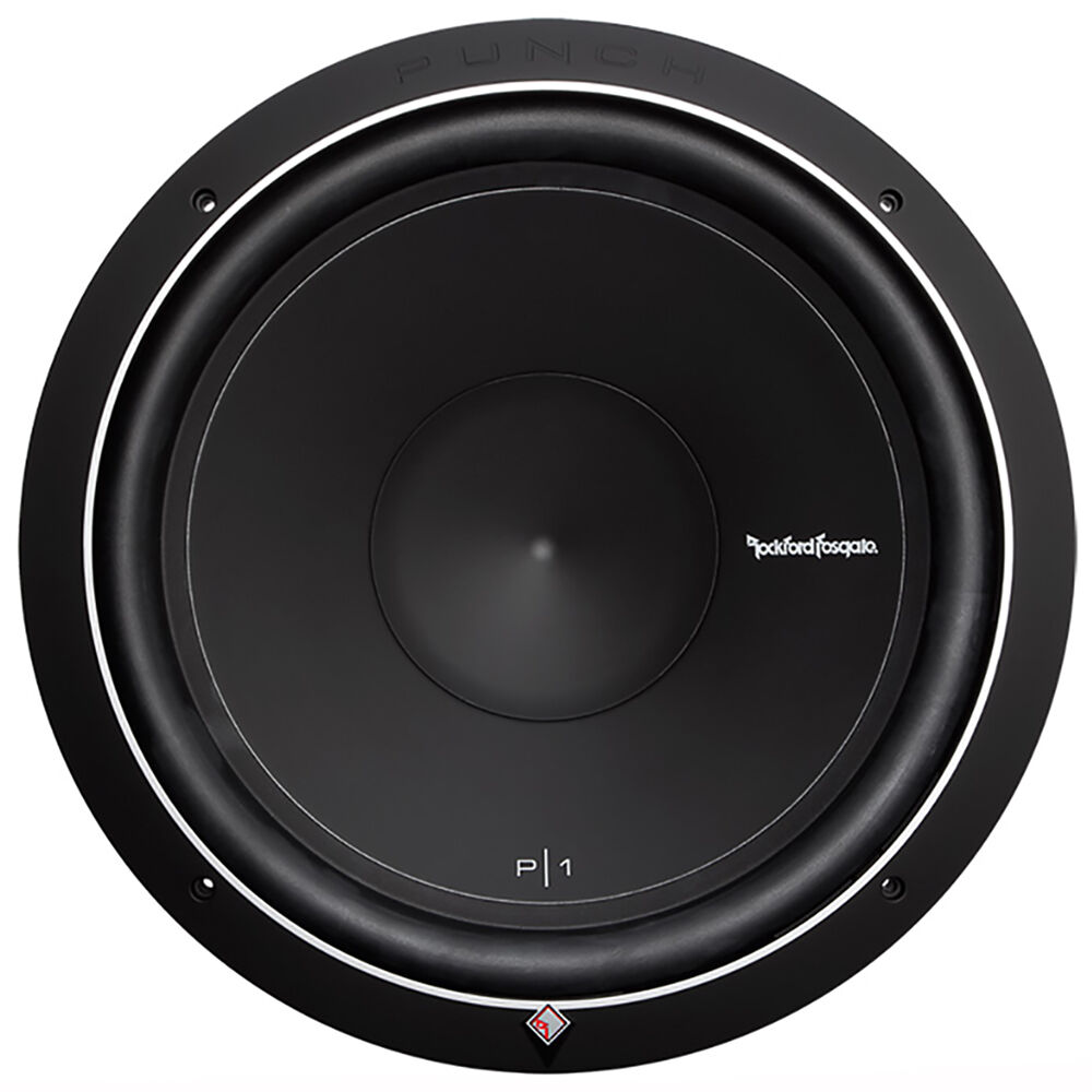 rockford fosgate punch p1 15 inch 500 watt 4 ohm svc. Black Bedroom Furniture Sets. Home Design Ideas
