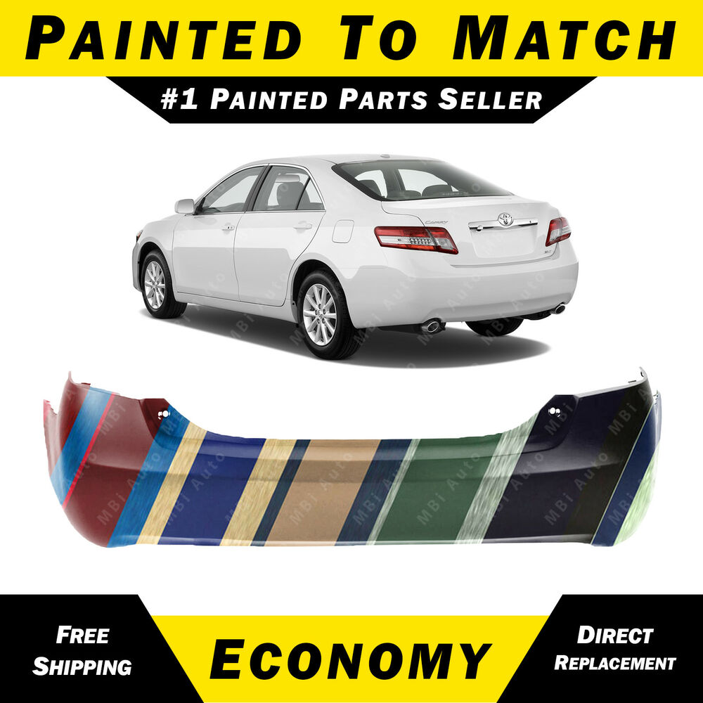 new painted to match rear bumper cover replacement for. Black Bedroom Furniture Sets. Home Design Ideas