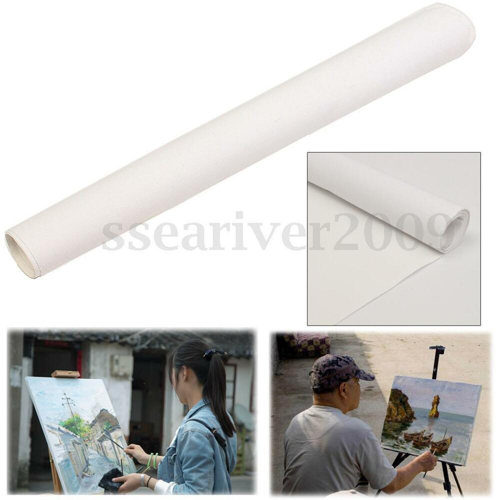 Artist blank canvas roll paint cotton art for acrylic oil for Canvas roll for painting